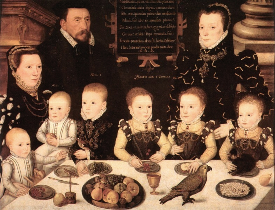 Tudor Food Meal Elizabethan Family